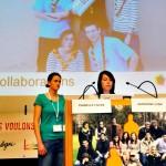 Sandrine Cina et Isabelle Favre, LGBT Youth Suisse, association nationale pour les jeunes LGBT
