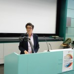 Lorena Parini, co-présidente de la Fédération genevoise des associations LGBT et maître d'enseignement et de recherche à l'Institut des Etudes Genre de l'Université de Genève