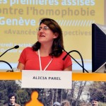 Alicia Parel, Transgender Network Switzerland