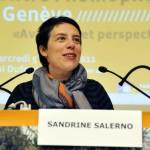 Sandrine Salerno, Conseillère administrative en charge du Département des finances et du logement, Ville de Genève