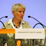 Marguerite Contat-Hickel, co-présidente de la Constituante, Etat de Genève