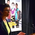 Lorena Parini, co-présidente de la Fédération