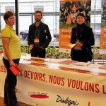 Stand d'information