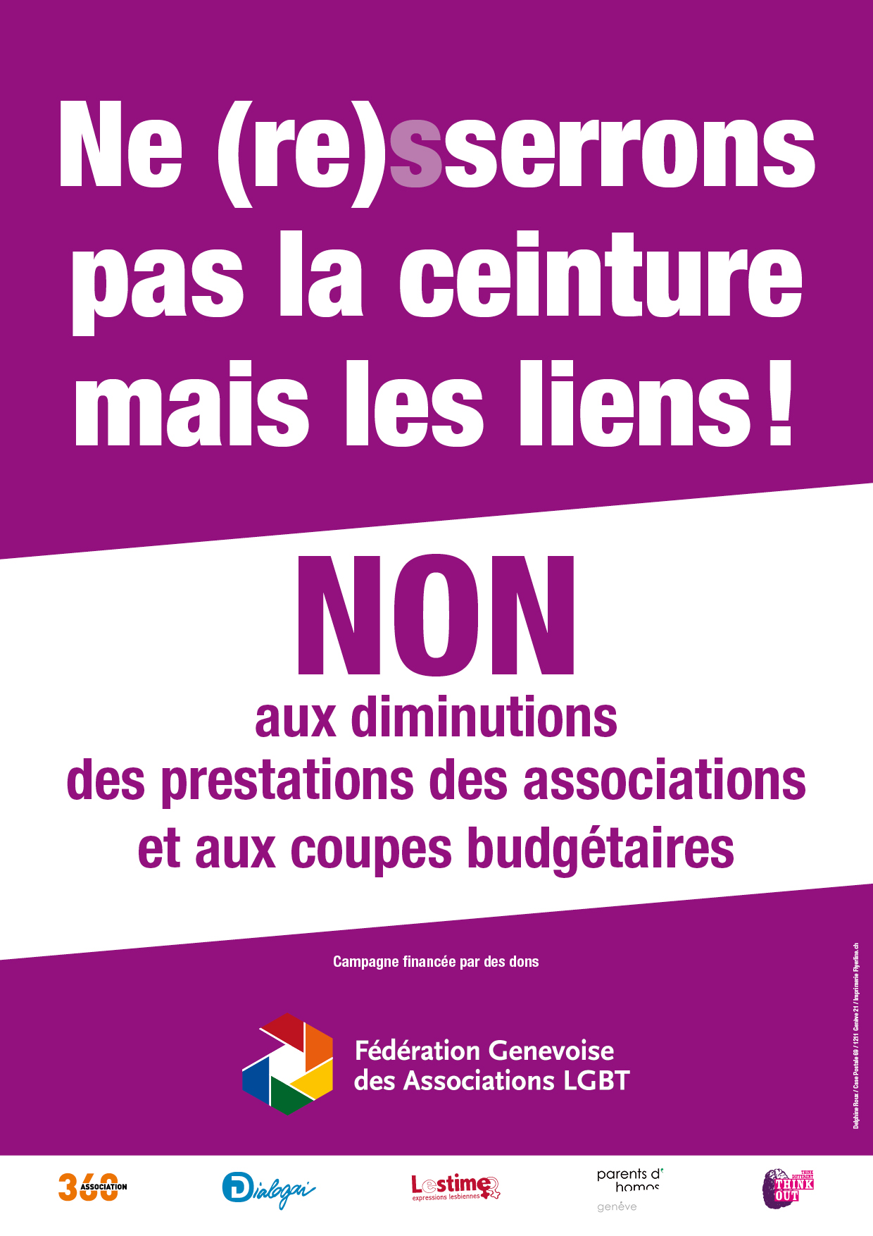 Référendums contre les coupes budgétaires en Ville de Genève: appel aux dons