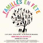Journée Internationale pour l'Egalité des Familles – «Familles en fête»