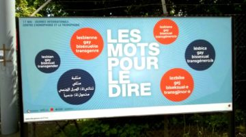 « Les mots pour le dire »… dans la rue le 17 mai