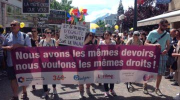 Défilez à nos côtés pour l'égalité et la liberté à la Pride de Fribourg