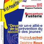 Midis de la Fusterie: «Devenir un-e allié-e de la prévention du suicide des jeunes»