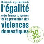 30 ans du Bureau de promotion de l'égalité entre femmes et hommes