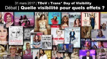 Débat: «Visibilité trans*: quelle visibilité pour quels effets?»