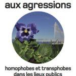 Brochure «Faire face aux agressions homophobes et transphobes dans les lieux publics»