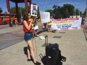 Laura Pasquier, Amnesty Unige LGBT