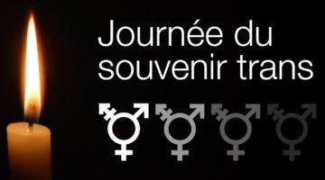 Journée du Souvenir Trans*: un jour pour rendre hommage