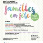 Venez célébrer toutes les familles à «Familles en Fête»